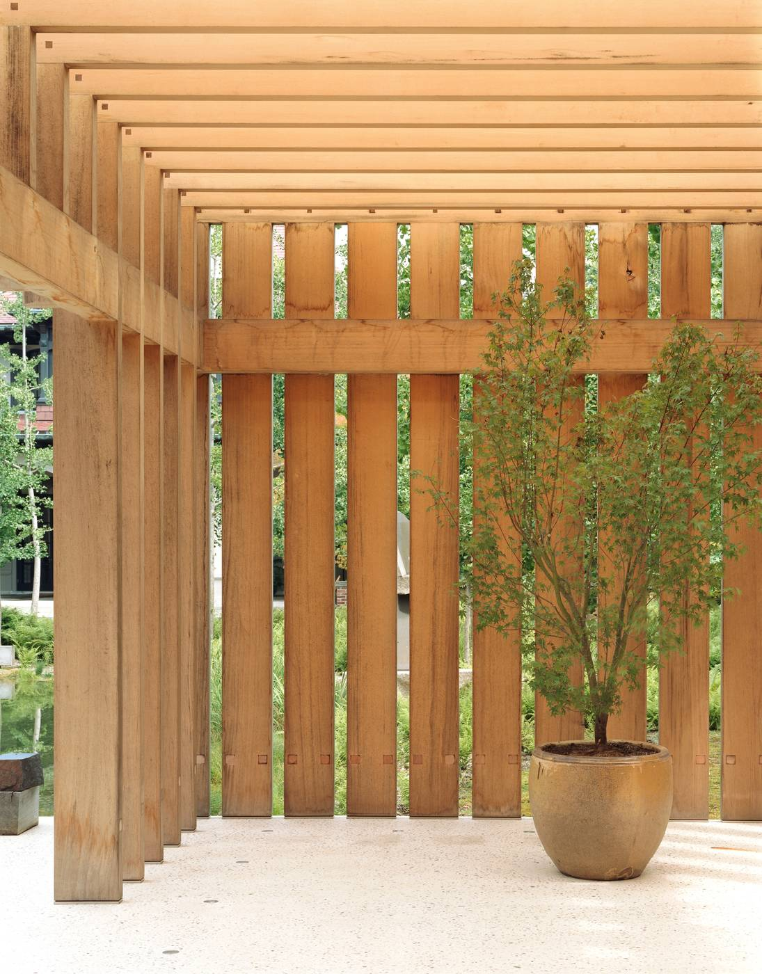 Noguchi Garden Pavilion   Gluckman Tang